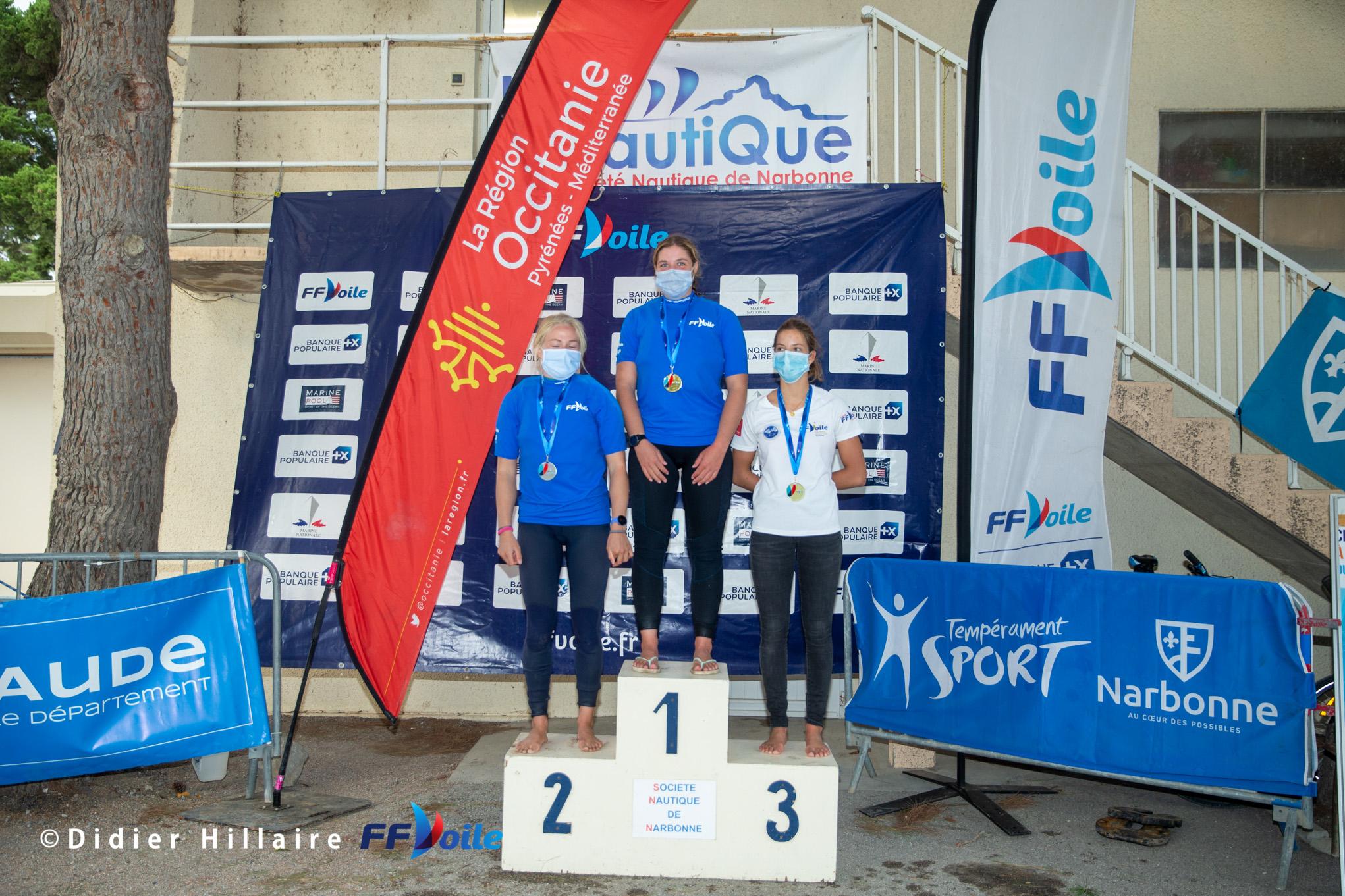 Troisième place lors du championnat de France Windfoil 2020