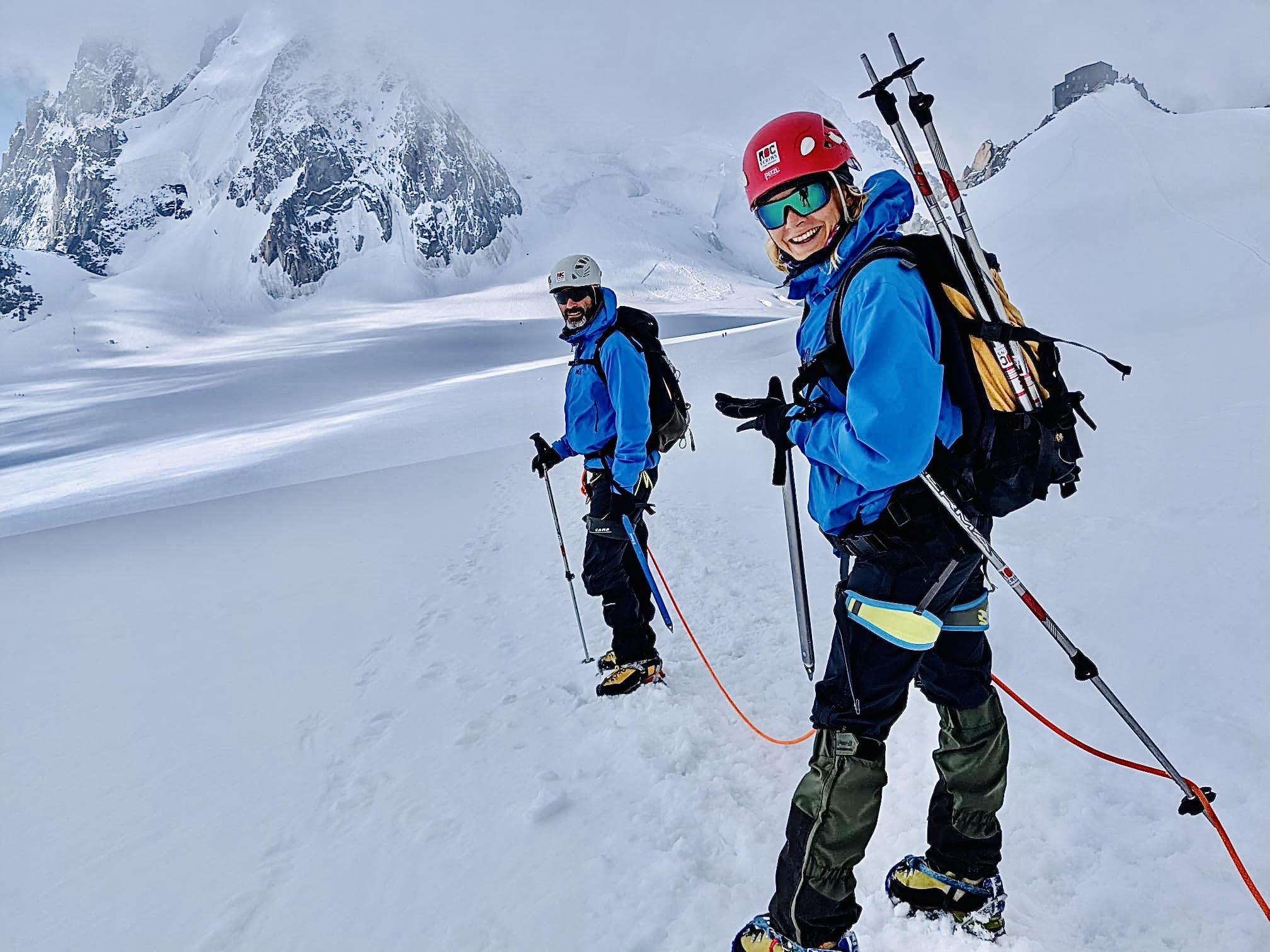 Eté 2021 - Training Alpinisme Mont Blanc 4810m<br>