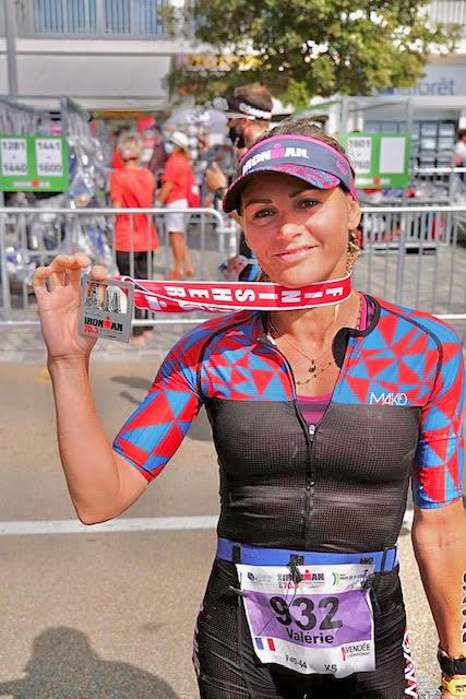 Half Ironman 2020 Les Sables - 5H 14 - 2è Women 40/44<br>