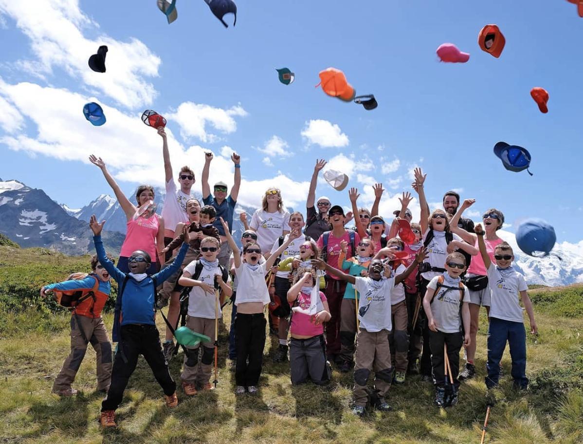 Camp de vacances organisé par l'association