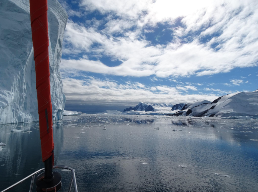 Navigation en Antarctique
