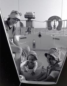 1ère expérience maritime de notre Skipper