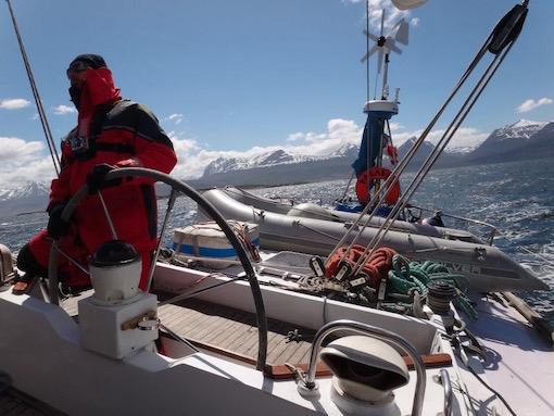 Navigation en Patagonie
